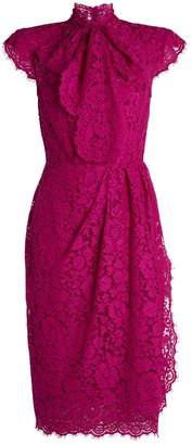 Dolce & Gabbana Pussybow Lace Dress