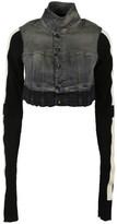 Drkshdw Cropped Denim Jacket