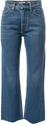 RE/DONE Mid Rise Flared Jeans