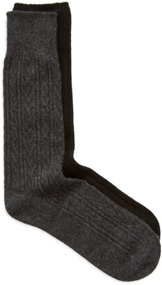 Nordstrom 2-Pack Cashmere Blend Sock Gift Box