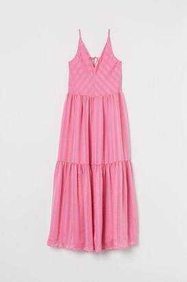 H&M V-neck maxi dress