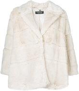 Twin-Set cropped faux fur coat