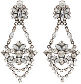 Stephan & Co Crystal Statement Chandelier Earrings