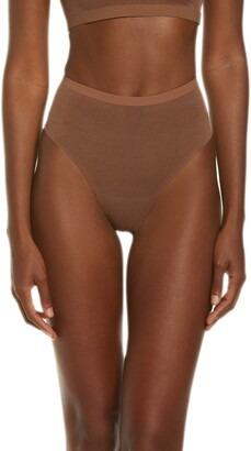 SKIMS Power Mesh Mid Waist Thong
