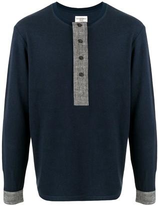 Kent & Curwen buttoned T-shirt