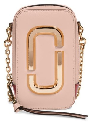 Marc Jacobs The Hot Shot Leather Crossbody Bag