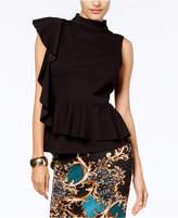 Thalia Sodi Ruffled Peplum Top, Created for Macy's