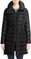 Moncler Women's 'Flammette' Water Resistant Long Hooded Down Coat