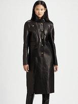 Leather Trenchcoat