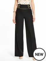 Very Military Wide Leg Trouser