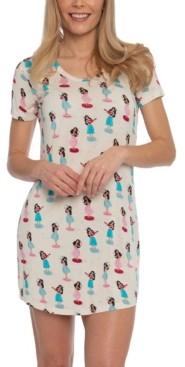 Munki Munki Nite Nite Hula Girl Sleepshirt Nightgown, Online Only