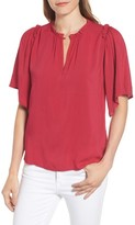 Velvet by Graham & Spencer Women's Puff Sleeve Blouse