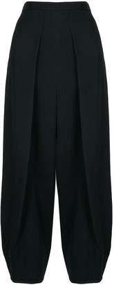 Emporio Armani High Waisted Balloon Trousers