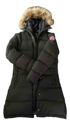 Canada Goose Shellburne Grey Polyester Coats