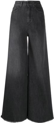 FEDERICA TOSI high-rise wide-leg jeans