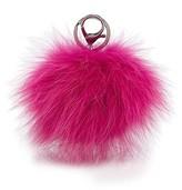 Adrienne Landau Fur Pom Pom Key Fob