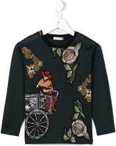 Dolce & Gabbana Western print top
