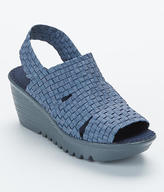 Bernie Mev. Level Woven Stretch Platform Sandals
