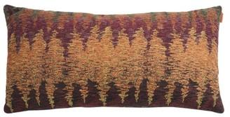 Missoni Home Yerres Medium Rectangular Jacquard Cushion - Brown Multi