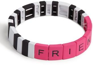 Bari Lynn Friends Stretch Friendship Bracelet