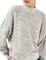 Topshop PETITE Brushed Batwing Sweatshirt