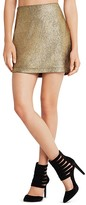 BCBGeneration Metallic Mini Skirt