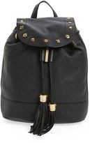 See by Chloe Vicki Leather Backpack - Black