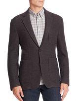 Billy Reid Single-Breasted Wool Blazer