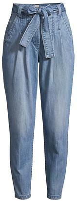 La Vie Rebecca Taylor Tie-Waist Jeans