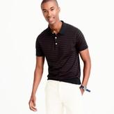 J.Crew Pima cotton short-sleeve sweater-polo in stripe