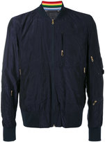 Paul Smith classic bomber jacket - men - Polyamide/Cupro - M