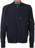 Paul Smith classic bomber jacket - men - Polyamide/Cupro - M