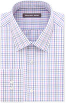 Geoffrey Beene Men's Classic/Regular Fit Pink Check Wrinkle Free Dress Shirt