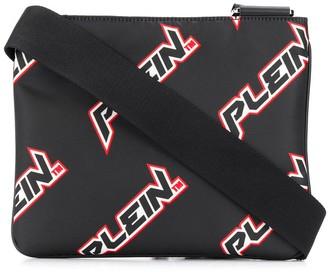 Philipp Plein logo print shoulder bag