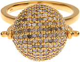 Jade Jagger Diamond & gold-plated Disco Ball ring
