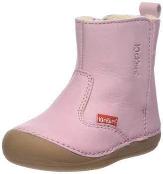 Kickers Unisex Baby Socool Shoes Pink (Rose Clair Cho 131) 3 Baby UK (19 EU)