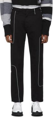 Liam Hodges Black 2600 Work Trousers