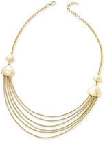 Charter Club Gold-Tone Chain Collar Necklace, Only at Macy's
