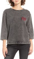 RVCA Women's Campus Logo Sweatshirt