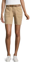 UNIONBAY Union Bay Belted Bermuda Shorts-Juniors