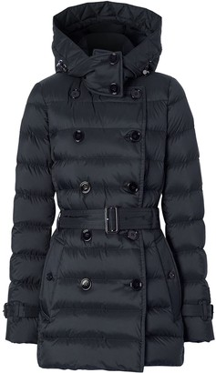Burberry Detachable-Hood Puffer Jacket
