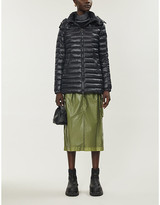 Moncler Menthe high-neck shell-down jacket