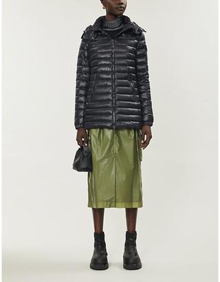 Moncler Menthe high-neck shell-down jacket
