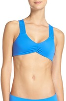 Maaji Women's Blue Decks Reversible Bikini Top