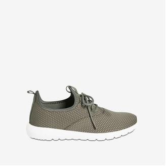 Joe Fresh Women's Athletic Sneakers, Khaki Green (Size 10)