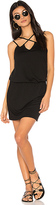 Lanston Cross Front Dress in Black. - size XS (also in )