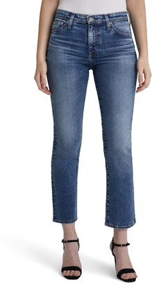 AG Jeans Mari High Waist Slim Crop Jeans