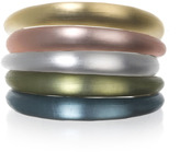 Alexis Bittar Skinny Tapered Bangle, Assorted Colors