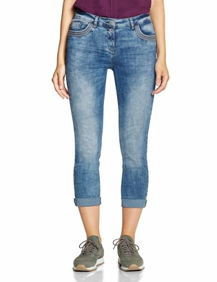 Cecil Women's 372406 Charlize Slim Fit Straight Jeans
