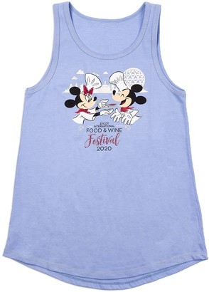 Disney Mouse Tank Top for Women Epcot International Food & Wine Festival 2020